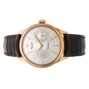 Đồng hồ Rolex Cellini 50515 Mặt số bạc