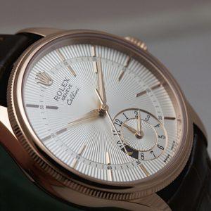 Đồng hồ Rolex Cellini Dual Time Everose ref. 50525 – 0009