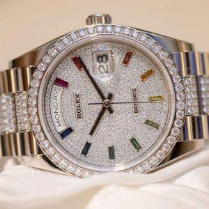 Rolex Day-Date 36 128345RBR Rainbow