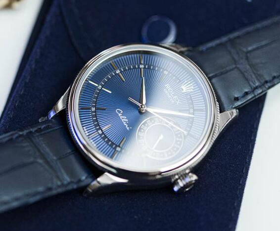 Đồng hồ Rolex Cellini Date 50519 Mặt số xanh