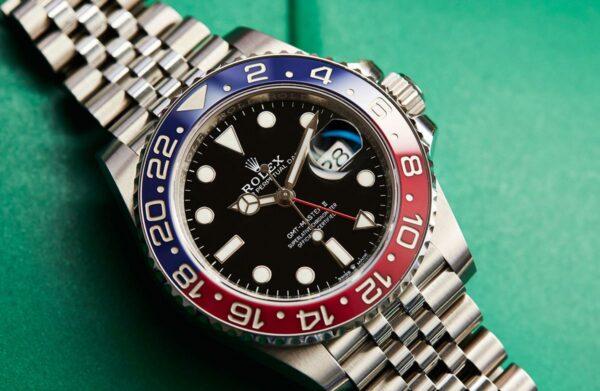 Đồng hồ Rolex GMT-Master II Ref.126710 BLRO