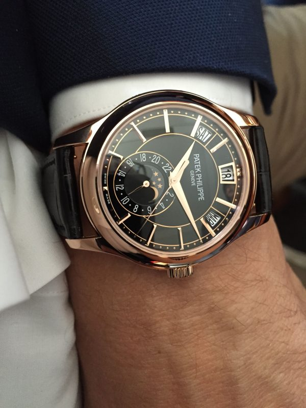 Đồng hồ Patek Philippe Complications 5905R Brown Dial, Rose Gold